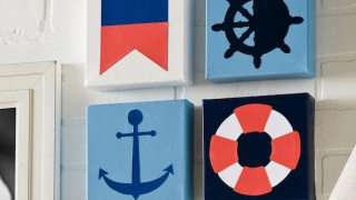 Make Nautical Wall Art in Three Easy Steps