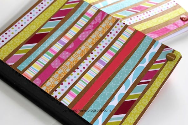 Mod Podge notebooks