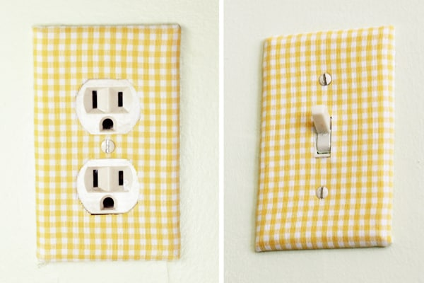 Easy Decorative Switch Plates