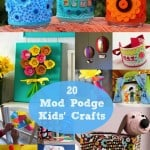 20 easy and fun Mod Podge kids crafts