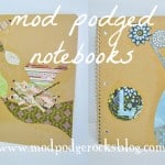Make a Mod Podged DIY notebook.