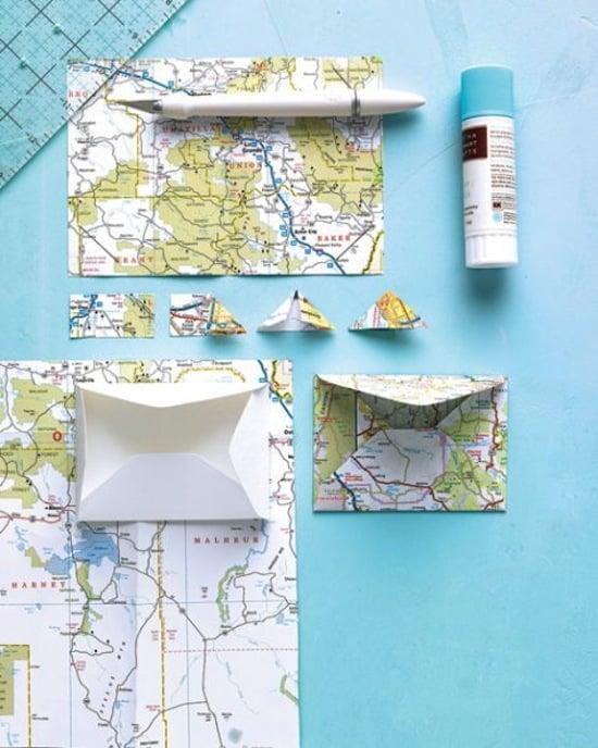 Make envelopes using maps