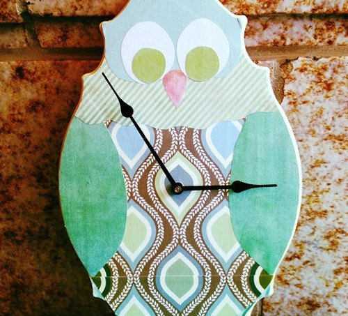 Easy way to get an owl clock