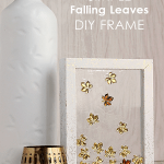 Simple falling leaves DIY frame