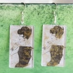 Vintage-inspired DIY earrings