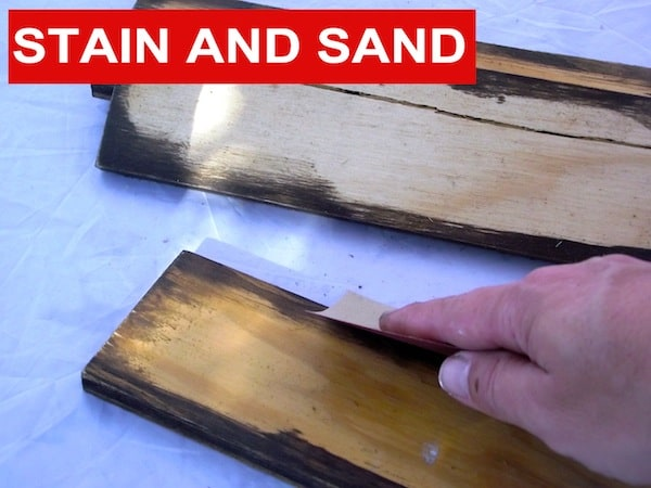 Stain and Sand