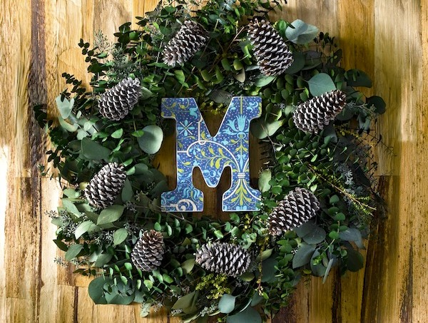 Win a $75 credit to The Wreath Depot - and make a winter wreath just like this one!