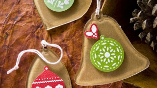 Easy Brown Paper Bag Ornaments