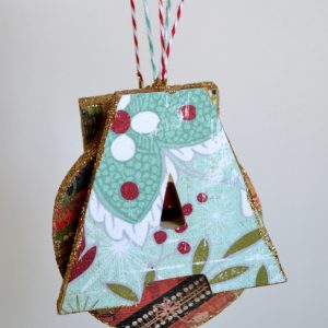 Personalized letter ornaments