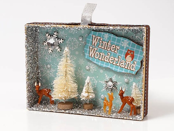 Winter wonderland mini diorama