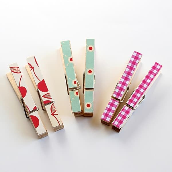 How to decorate clothespins
