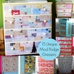 Have an old dresser than needs a bit of an upgrade? Use Mod Podge to decoupage a dresser with ease! Here are 15 ideas to inspired you.