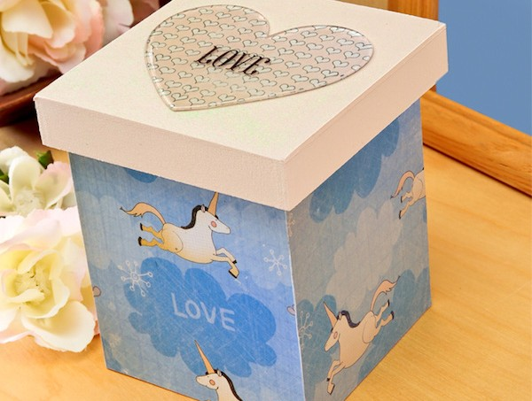 What I love about you valentine box