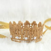 DIY Lace Crown