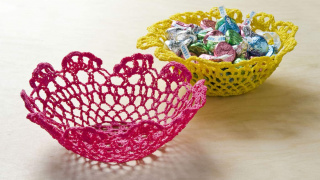 Make a Doily Bowl with Mod Podge Stiffy