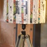 Let Hammer Like a Girl show you how to revamp a lampshade with your favorite vintage graphics and decoupage medium. Love the results!