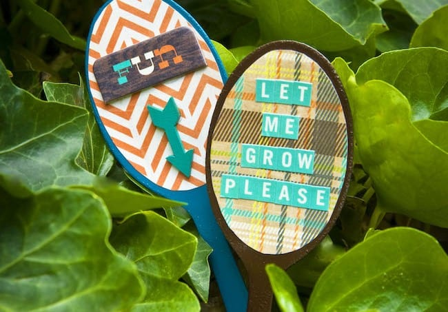 How to make garden markers from thrift store spoons
