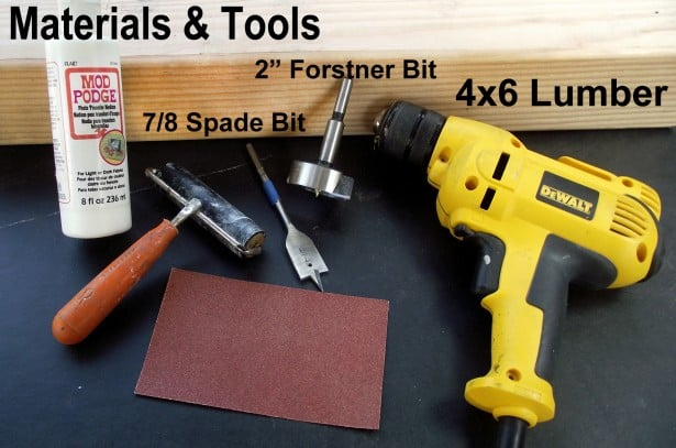Materials and Tools
