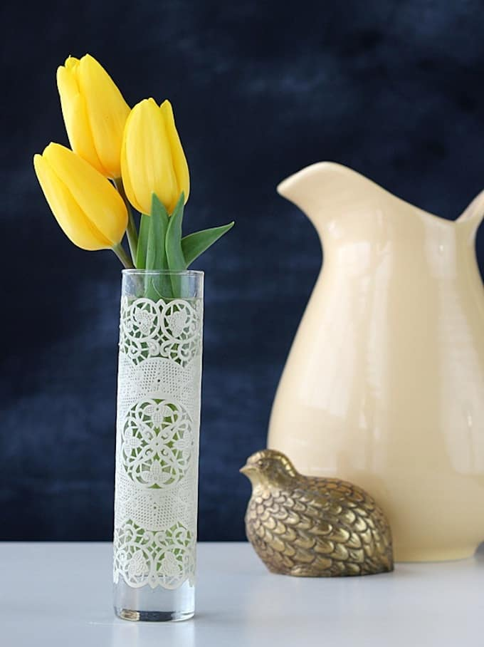 Spring Crafts with Vases