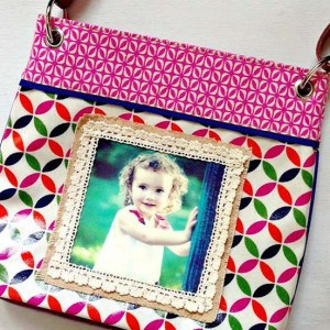 How to make a photo purse