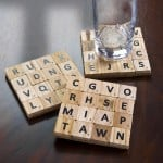 How to Make Scrabble Tile Coasters in Minutes