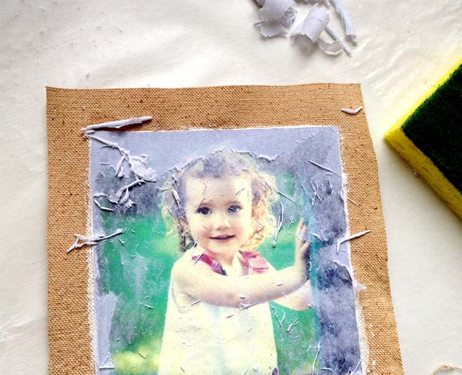Photo transfer medium