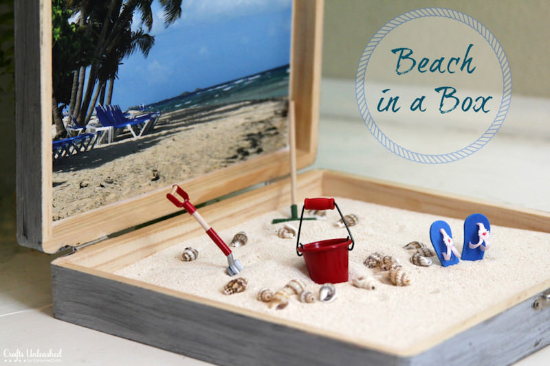 Make a beach in a box