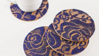 Up Your Crafting Game with These Lace Coasters