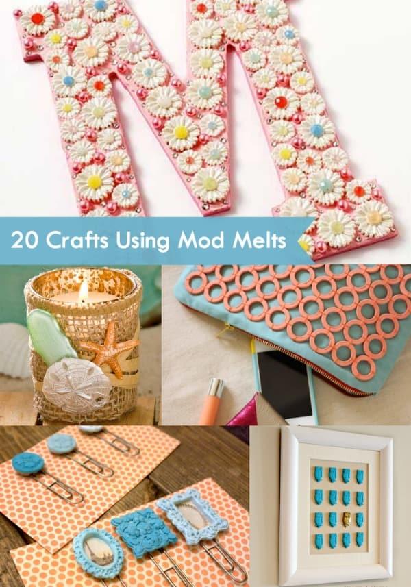 20 cute crafts using Mod Melts