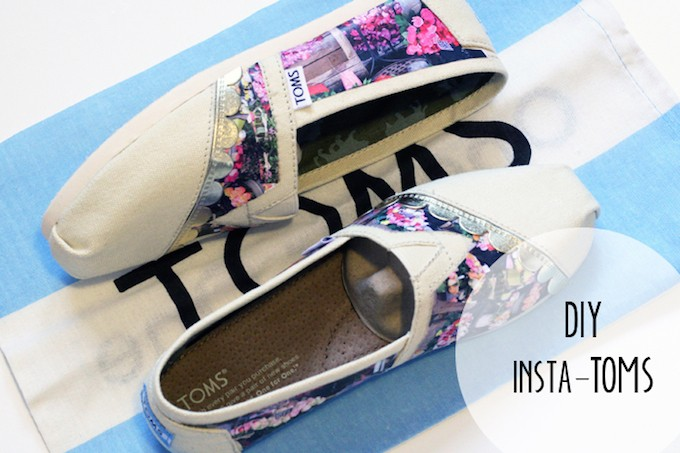 DIY Instagram Toms