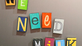 Ransom Note DIY Letter Magnets (with Free Printable)