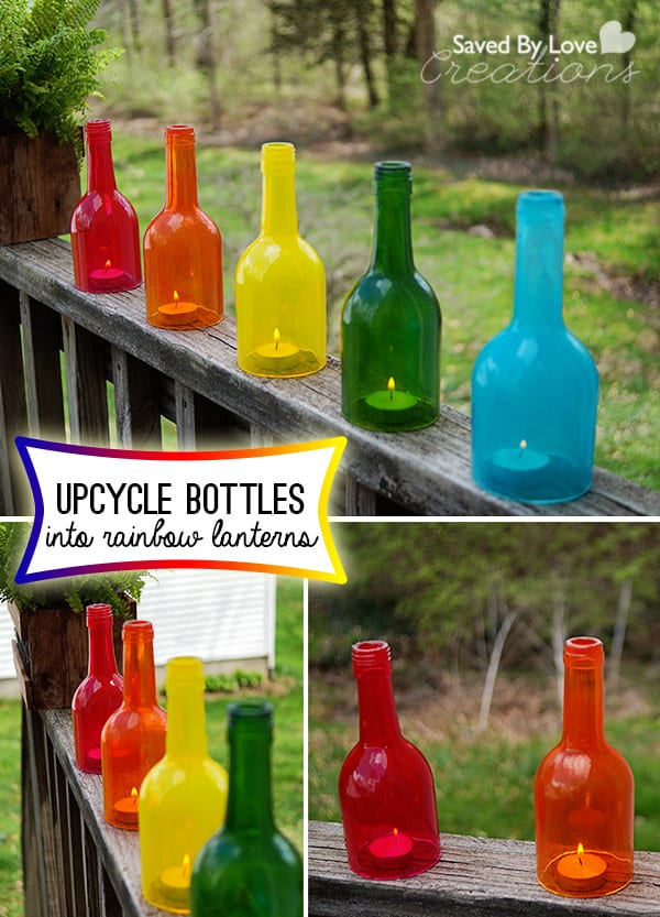 Wine-Bottle-Craft-Upcycle-into-Rainbow-Decor-@savedbyloves