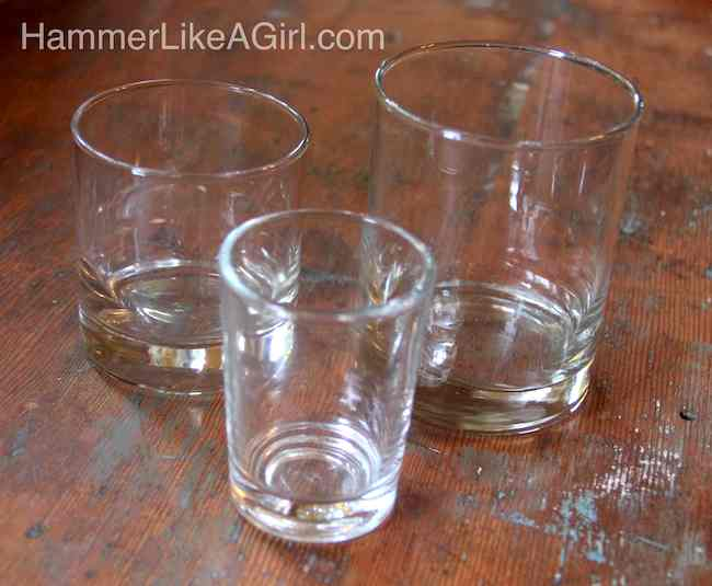 how to make drinking glasses shine