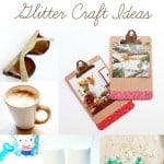 20 Mod Podge glitter craft ideas