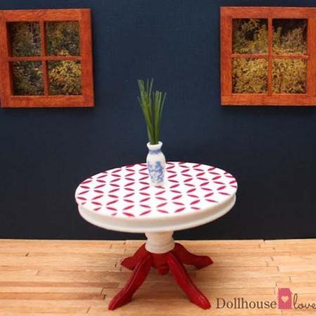 How to customize mini dollhouse furniture