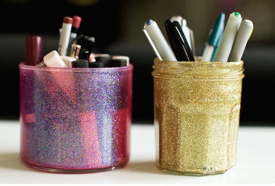 Do you want to change your life with sparkle? Try one of these 20 glitter crafts - all you need are the sparkles and Mod Podge!