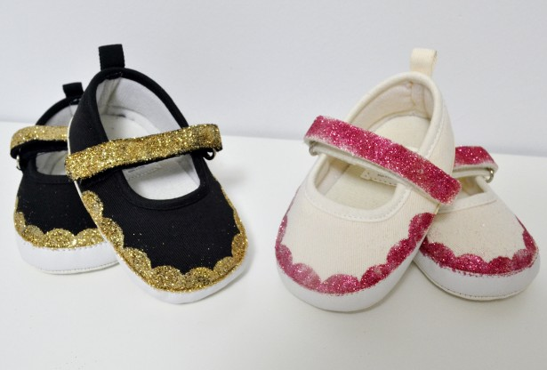DSC 0038 3 615x416 diy glittered shoes {a tutorial}