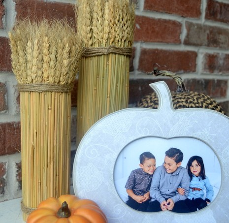 If you're looking for an easy and fast way to create some autumn decor with Mod Podge, try this simple fall frame!