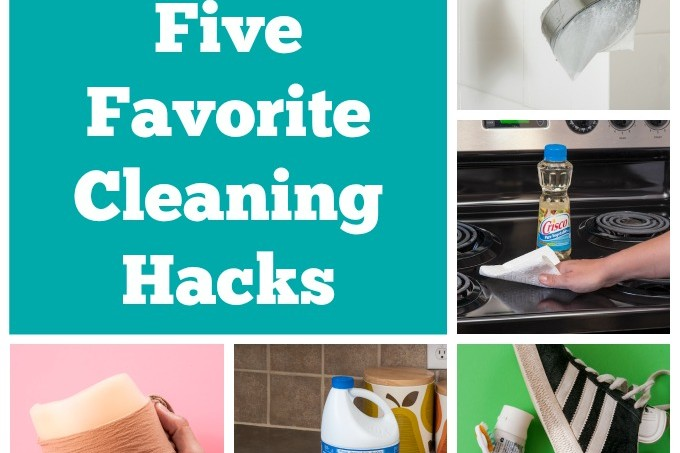 My top five favorite cleaning hacks