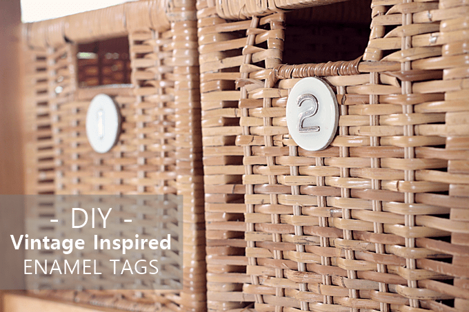 How to Make Basket Tags for Organization