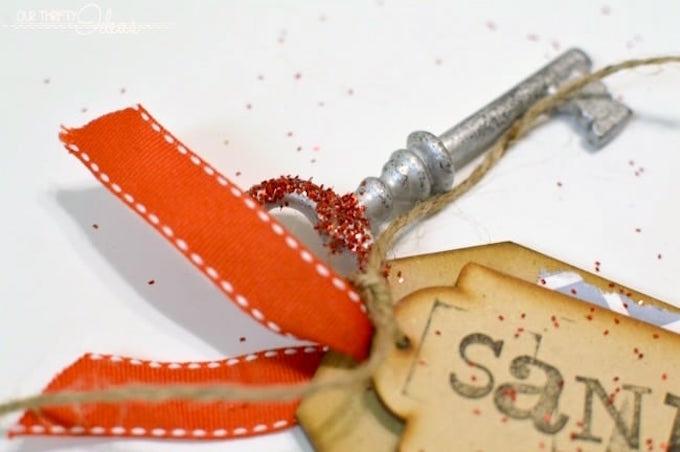 Make a Santa key if you have no chimney