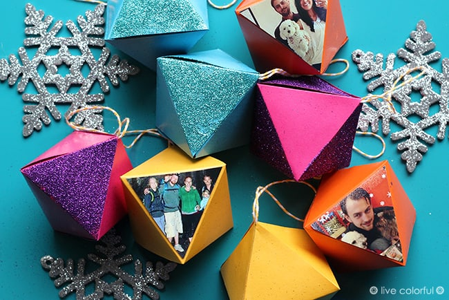 This last minute holiday decoupage project can save you from a sad looking home during these cheerful celebrations. You'll love these paper ornaments!