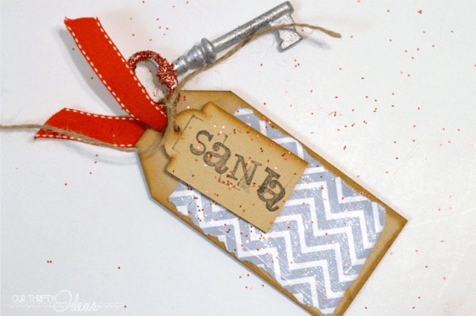 Santa magic key craft