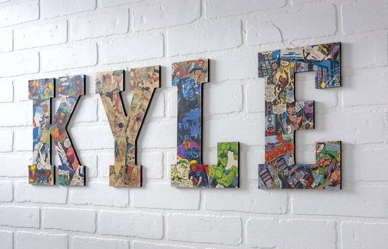 The Easiest Way to Make Comic Book Letters