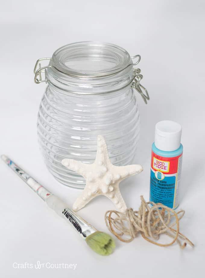 Coastal-Mod-Podge-Vase