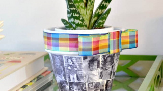 DIY Flower Pot Perfect for Mother's Day