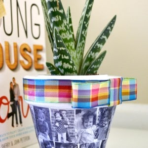 DIY planter perfect for Mother's D...