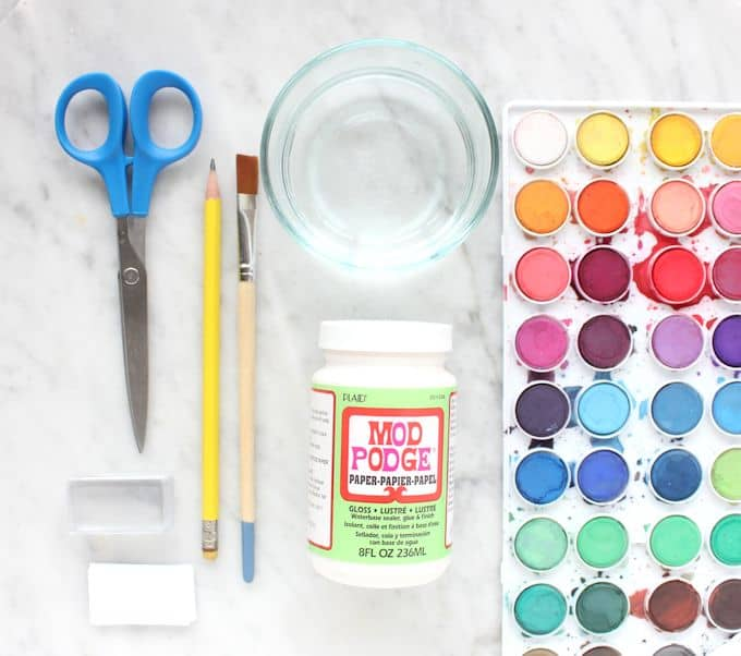 Supplies - Watercolor Magnets