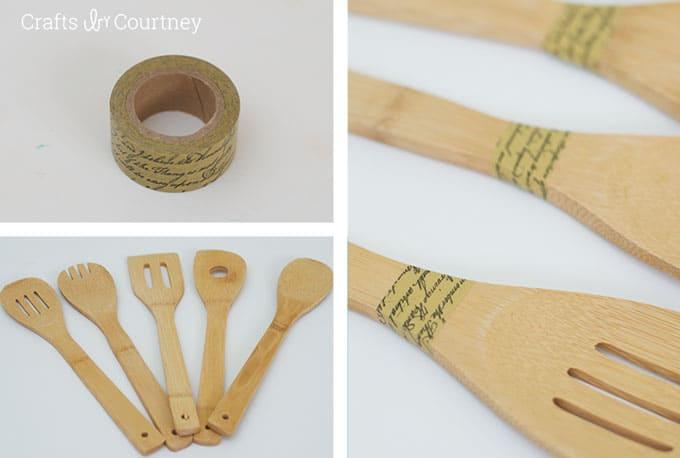 Easy Wooden Spoon Makeover: Paint + Mod Podge - Mod Podge Rocks