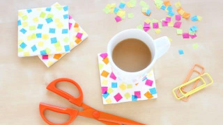 Confetti Coasters for Your Next Party!